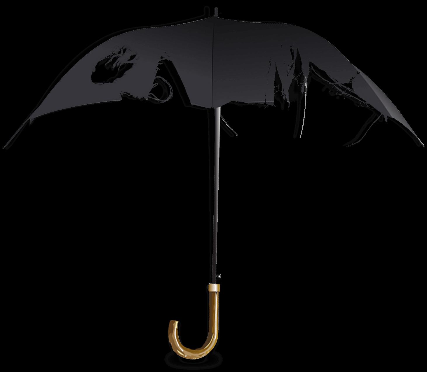 Ødelagt paraply